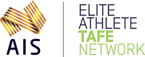 AIS Elite Athlete TAFE Network logo